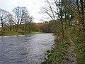 River Hodder below The Inn at Whitewell - geograph.org.uk - 1573360.jpg