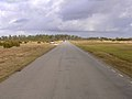 Road along former runway at Stoney Cross airfield, New Forest - geograph.org.uk - 123464.jpg