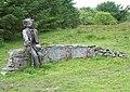 Roadside sculpture near Penuwch, Ceredigion - geograph.org.uk - 920403.jpg