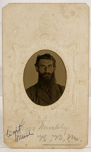 33rd Virginia Infantry - Captain Muse of Company D Mountain Rangers