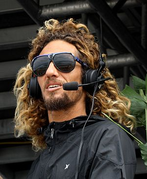 Rob Machado - Professional Surfer Rob Machado provides live commentary during the Boost Mobile Pro at Lower Trestles, September 2009
