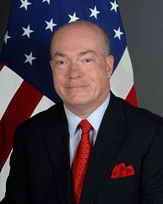 Robert P. Jackson - Image: Robert Porter Jackson ambassador