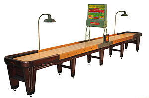 Rock-Ola - Fully Restored Rock Ola Antique Shuffleboard