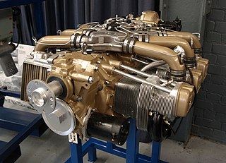 Continental Tiara series air-cooled, horizontally-opposed piston aircraft engine family