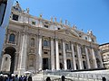 Roma, Basilica di San Pietro, facciata.jpg