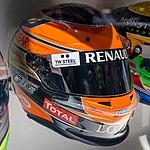 Romain Grosjean 2012 helmet 2017 Museo Fernando Alonso.jpg