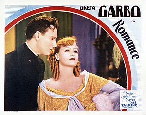 Romance (1930 film) - Lobby card