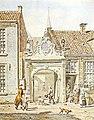 Roode of Burgerweeshuis door Jan Ensing 1839.jpg