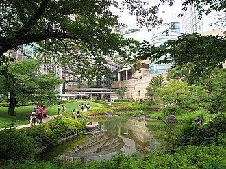 Roppongi Hills - Roppongi Hills Mori Garden