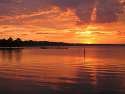 Ross Barnett Reservoir sunset picture.jpg