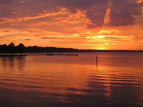 Ross Barnett Reservoir sunset picture.jpg