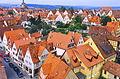 Rothenburg ob der Tauber (Blick von der Stadtmauer, 26.09.1990) 01.jpg