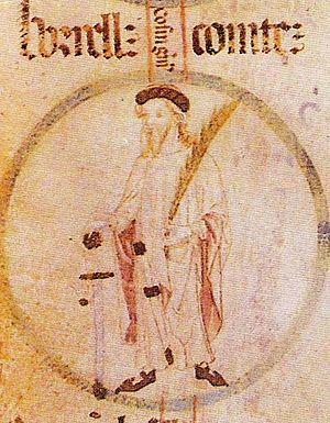 Borrell II, Count of Barcelona - Image: Rotlle genealogic borrell II de barcelona