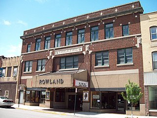 Rowland Theater United States historic place