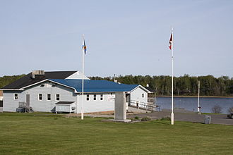 Royal Canadian Legion - A Legion hall in Baddeck, Nova Scotia.