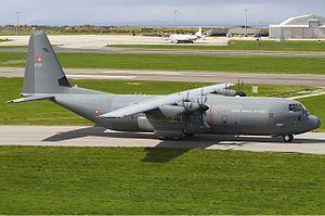 Aalborg Air Base - C130 Hercules transport aircraft based in Aalborg