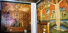 View of the Mortuary Chapel Murals by Phoebe Anna Traquair