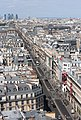 Rue de Rivoli as seen from the Tour Saint-Jacques, 11 August 2013.jpg