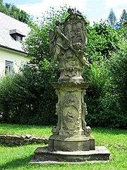 Sousoší mariánského obrazu