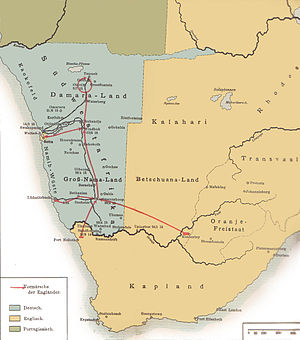 South West Africa campaign - The South West Africa Campaign in 1915
