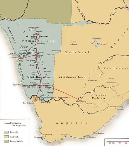 The 1915 South West Africa Campaign. Südwestafrika 1915.jpg