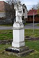 Sümegprága, Nepomuki Szent János-szobor 2021 05.jpg