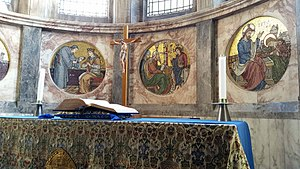 Gonville and Caius College, Cambridge - the chapel's altar