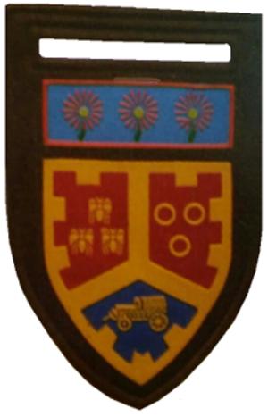 Regiment University of Pretoria - Image: SADF era Regiment University of Pretoria with N Transvaal Command Tupper Flash