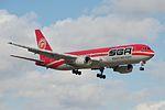 SBA Airlines, Boeing 767-300ER, YV528T (15675045089).jpg
