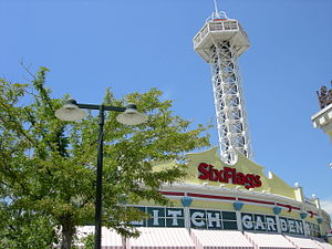 Elitch Gardens Theme Park - The main entrance