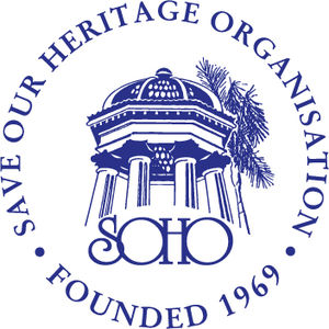 Save Our Heritage Organisation - Image: SOHO Logoblue