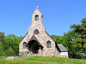 St. Peter's By-The-Sea Protestant Episcopal Church (Cape Neddick, Maine) - Image: SPBTS church