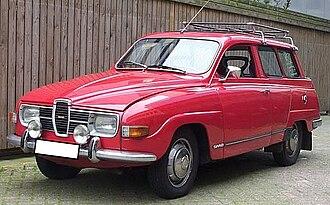 Valmet Automotive - Image: Saab 95 V4 1974