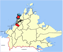 Location in Sabah and Malaysia