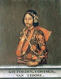 Saifuddin of Tidore Sultan of Tidore