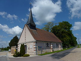 Saint-Meslin-du-Bosc (Eure, Fr) church.JPG
