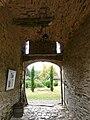 Saint-Pierre-de-Frugie château Frugie intérieur entrée logis sud-ouest.JPG