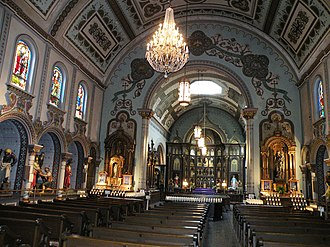 Saint Anthony's Chapel (Pittsburgh) - Image: Saint Anthony's Chapel Inside 1