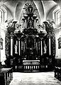 Saint Anthony of Padua church in Łódź-Łagiewniki, interior, Włodzimierz Pfeiffer, 004.jpg