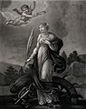 Saint Catherine. Stipple engraving by Henri after Blaisot. Wellcome V0031809.jpg