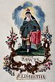 Saint Elizabeth of Hungary. Gouache painting. Wellcome V0031920.jpg