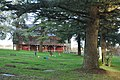 Saint Francis Xavier Mission Cemetery (Cowlitz) - disused building - 01.jpg