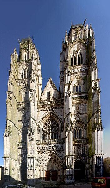 Façade de la basilique de Saint-Nicolas-de-Port