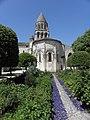 Saintes (17) Église abbatiale Sainte-Marie-aux-Dames - Extérieur - Chevet 01.jpg