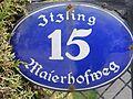 Salzburg - Schallmoos - Meierhofweg 15 - Schild.jpg