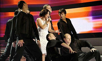 Samira Said - Samira Said performing on the Star Academy Arab World TV Show; Beirut, Lebanon; 8 July 2011