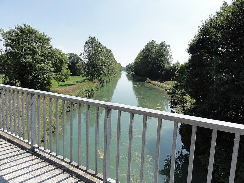 Sampigny (Meuse) Canal de l'Est