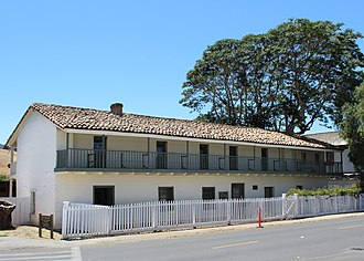 San Juan Bautista, California - Image: San Juan Bautista, CA USA General Jose Castro House, built in 1839 1841 panoramio