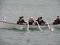 Sandingur Faroese Rowing Boat Sands Rodrarfelag.JPG
