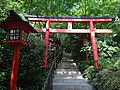 Sando of Nanten Inari Shrine in Nanzoin Temple in Sasaguri, Kasuya, Fukuoka 4.JPG